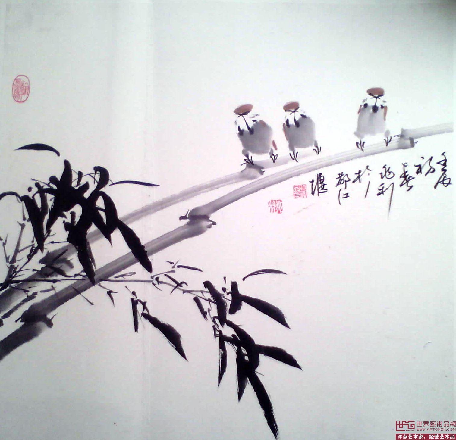 名家 宗兆利 国画 - 写意花鸟